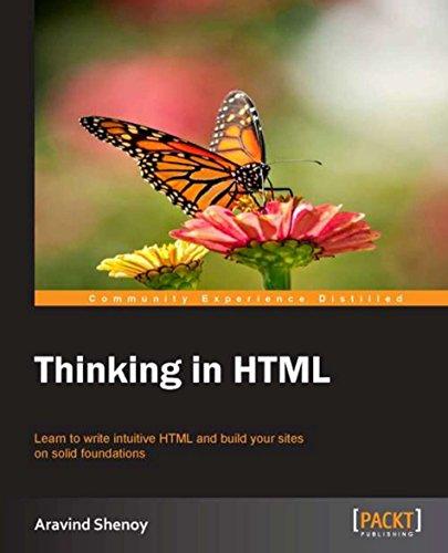Thinking in HTML (English Edition) por Aravind Shenoy