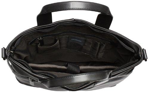 Strellson Garret Tote 4010001282 Herren Henkeltaschen 37x39x9 cm (B x H x T), Schwarz (black 900) Schwarz (black 900)