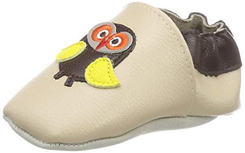 smileBaby Premium Leder Lauflernschuhe mit rutschfester Sohle für Jungen und Mädchen Krabbelschuhe Babyschuhe Kleinkind 0-6 Monate 6-12 Monate 12-18 Monate 18-24 Monate mit verschiedenen Motiven