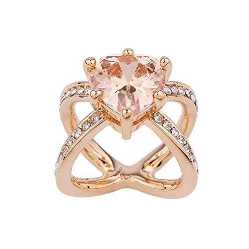Fliyeong Schal Schnalle aus reinem Kupfer eingelegten Zirkon Schal Schal Clip weiblichen Ring Ring Dual-Use-Vergoldet -