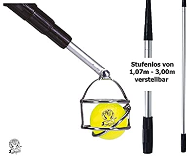 Deluxe Golfballangel Ballangel Aluminium