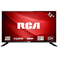 RCA RB32H1-UK 32 inch HD LED TV with Triple tuner, HDMI and USB connection…