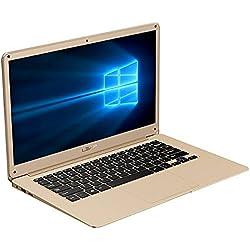 InnJoo - Portátil A100 Intel Z8350/2GB/32GB/14.1 Dorado