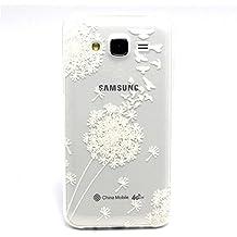 "Voguecase® Para Samsung Galaxy J5(5"") ultra-slim fit TPU Funda de Silicona de Gel Carcasa Tapa Case Cover (Dayan/Diente de león) + Gratis aguja de la pantalla stylus universales"