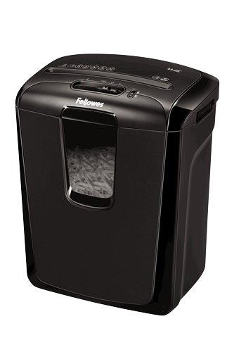 Fellowes Powershred M-8C Destructeur de Documents 8 Feuilles Coupe Croisée - Technologie Safety Lock