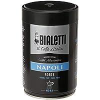 Bialetti Easy Timer - Cafetera (Cafetera moka eléctrica, De café molido, Negro, Plata)