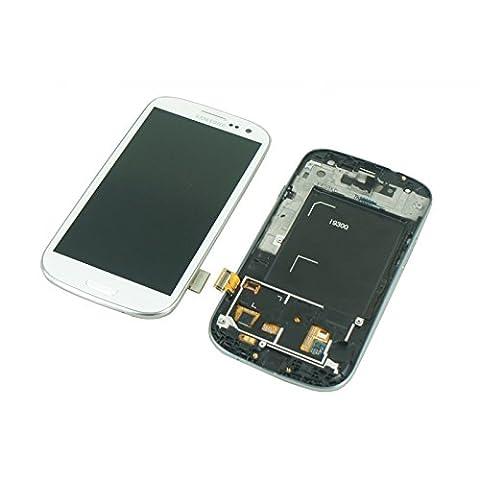 Ecran Complet LCD + Tactile Samsung Galaxy S3 i9300 - Blanc