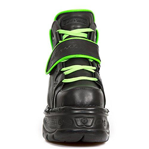 New Rock M.1077-S4 Green, black