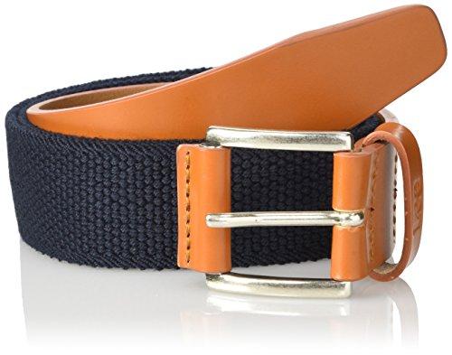 Lee Herren Gürtel Cotton Leather Strap Mehrfarbig (DEEP INDIGO PS)