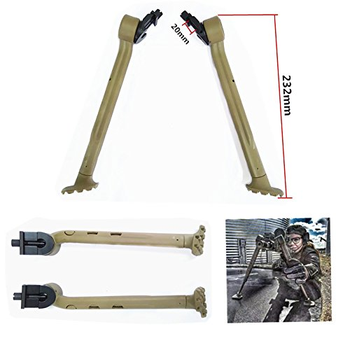 FIRECLUB Side Mount Bipod Sand Fits Picatinny