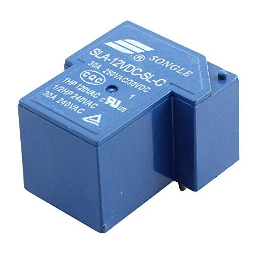 sourcingmap® DC 12V 6 Morsetti PCB elettromagnetico bobina relè di