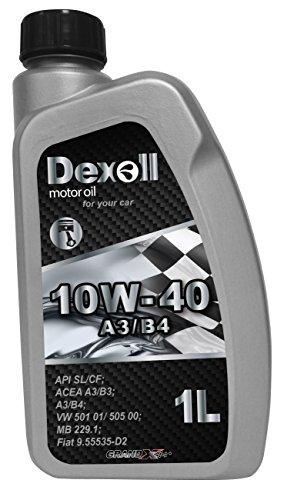 Dexoll PKW Motoröl 10W-40 geeignet für Benzin- und Dieselmotoren, 1 Liter