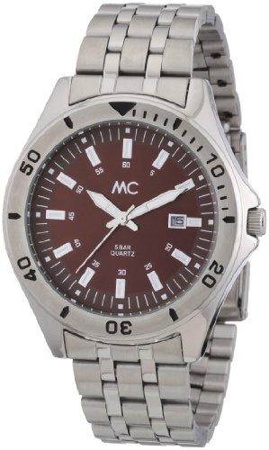 MC Timetrend Herren-Armbanduhr komplett Edelstahl Analog Quarz 27353