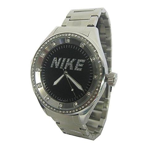 Nike Sport Watches quarzwerk Damen-Armbanduhr OR 526 NERO