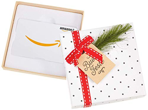 Buono Regalo Amazon.it - Cofanetto Agrifoglio di Natale