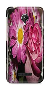 PCM High Quality Printed Designer Polycarbonate Hard Back Cover for Micromax Canvas Spark Q380 - Matte Finish - Color Warranty- 0650
