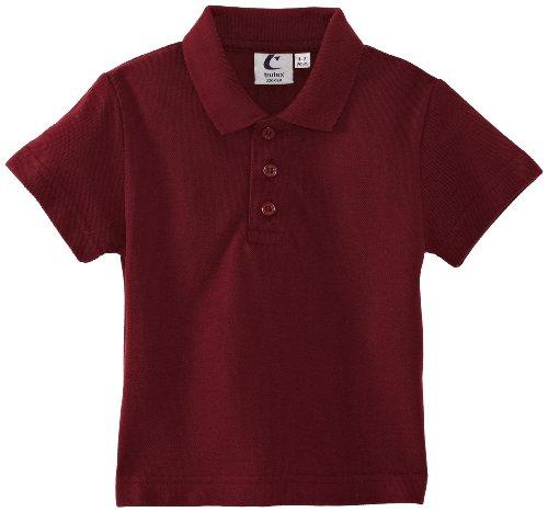 Trutex Jungen Poloshirt Polo, Kastanienbraun, 1-2 Jahre (Hersteller Größe: 18-19 Brust) (Schuluniform-jungen-18)