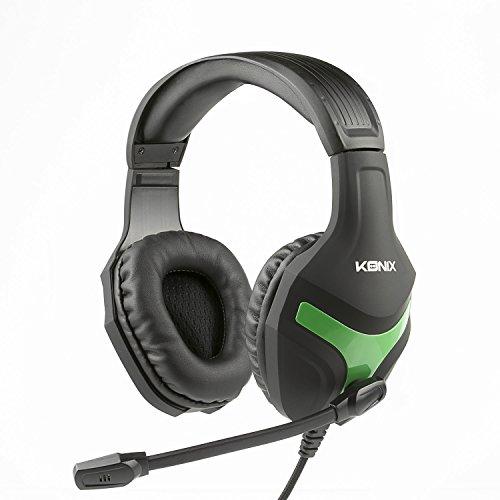 Konix MS-400 - Casque Gaming Xbox One Compatible PS4, PC, Tablette, Smartphone - Haute Qualité Audio - Micro Casque Gamer Avec Micropho