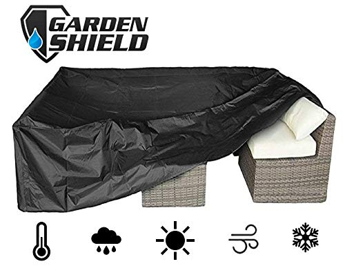 garden shield copertura per mobili copertura mobili 242 cm x 162 cm x 100 cm impermeabile, resistente
