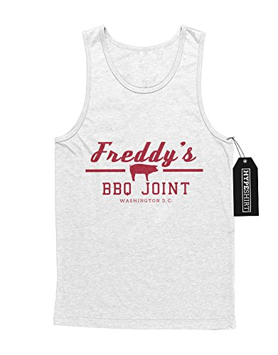 Tank-Top Freddy`s BBQ Joint House of Cards H549340 Weiß M