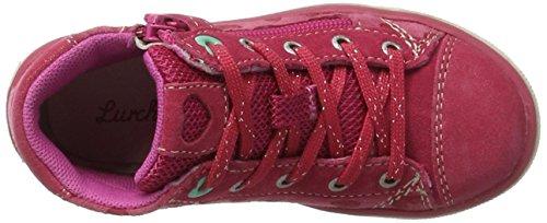 Lurchi - Secil, Pantofole a Stivaletto Bambina Rosa (Fuchsia)