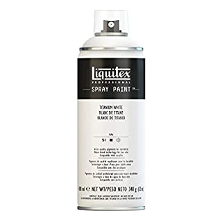 Liquitex Professional Spray Paint 400 ml, Titanium White