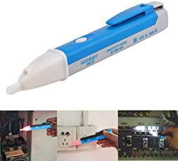 uptodateproducts AC Electric Non Contact Voltage Tester Pen Detector Sensor (90-1000V)