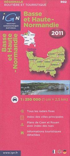 R02 Basse et Haute-Normandie 2011 1/250.000