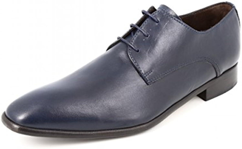belym RBM153 - Zapatos de Cordones de Piel Lisa Hombre -