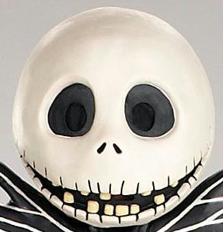 Jack Skellington Maske Halloween Kostueme Maske Gesicht Maske Over-the-Head-Maske Kostuem Stuetze Scary Creepy Schreckliche Maske fuer Maskerade Make-up (Jack Skellington Kostüme)