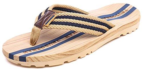 Infradito da Uomo Donna Sandali Flip Flops Pantofole Ciabatte da Mare per Spiaggia e Piscina