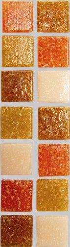 Mosaik-Stein-Set, 2x2 cm, 200g Terrakotta [Spielzeug]