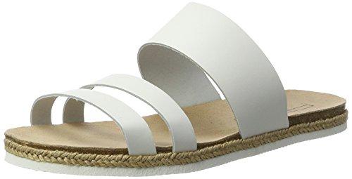 ESPRIT Damen Keita Slide Pantoletten Weiß (100 White)