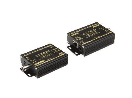 L-convertitore EKK Its, Ethernet coassiale Strecke con POE 3Mbit/s Uplink, 36Mbit/s (500 Rg6 Cavo Coassiale)