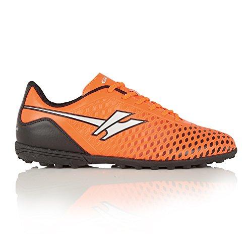 Gola Ion Vx, Chaussures de Football Entrainement Homme Orange/Argent