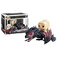 FUNKO POP Game of Thrones Drogon Pop Vinyl Vehicle with Daenerys Figure Car Decoration