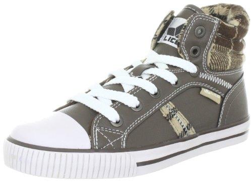 Lico Freak 180222 Jungen Sneaker Braun (Braun/Beige)