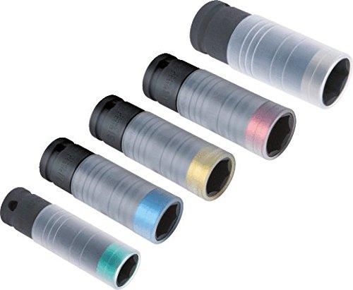"""KS Tools 515.0992 SlimPOWER 1/2\""""Impact-Stecknuss, 17mm"""