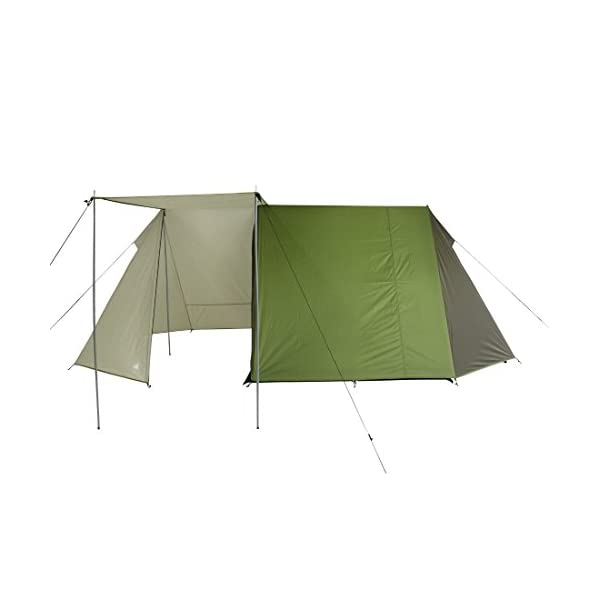 10T Outdoor Equipment Waterproof Mungaro Unisex Outdoor Frame Tent available in Grey - 3 Persons 4