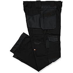 Lee Cooper Men's Cargo Trouser - schwarz/schwarz -36W/31L