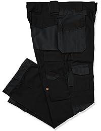 Lee Cooper Cargo Pantalon pour homme - Noir -36W/32L