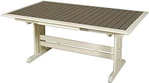 Table extensible hegoa ouverture automatique 184-243x105x75cm