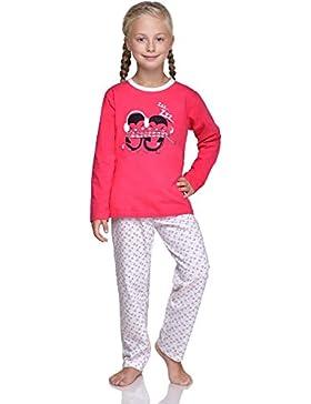 Timone Mädchen Schlafanzug 1004 1005