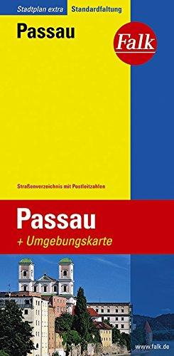 Falk Stadtplan Passau, Extra Standardfaltung