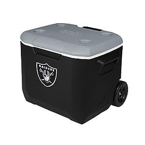 Coleman Company NFL Oakland Raiders Performance Cooler, 60 quart, Black/Gray