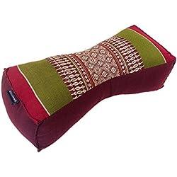 Tradicional chino de ceiba cuello apoyo almohada para yoga masaje o Relajación
