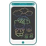 Richgv Tavoletta Grafica LCD Scrittura da 12 pollici, Colorato Digitale Ewriter con Blocco Memoria Tavola da Disegno Spesso per Bambini Studenti Progettista - Blu