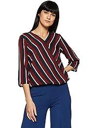 Krave Women's Striped Regular Fit Top