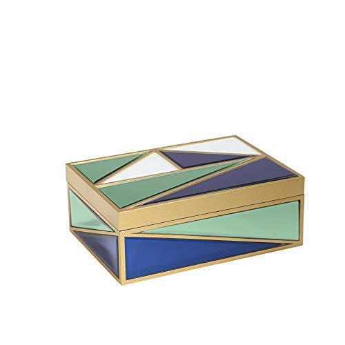 Sagebrook Home 13218 MDF-Box, 25,4 x 17,8 x 9,5 cm, Mehrfarbig -