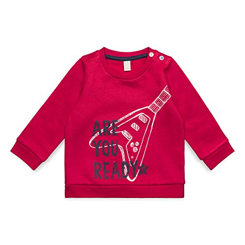 ESPRIT KIDS Baby-Jungen RM1500207 Sweatshirt, Rot (Tibetan Red 380), 62